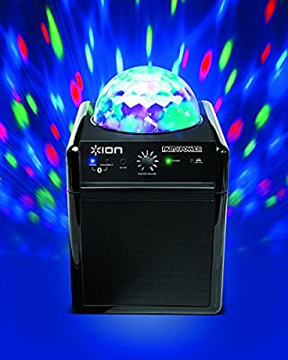 Ion Party Power Wireless Portable Speaker with Party Lights 10 Hours Battery Life ipa19c from Ion