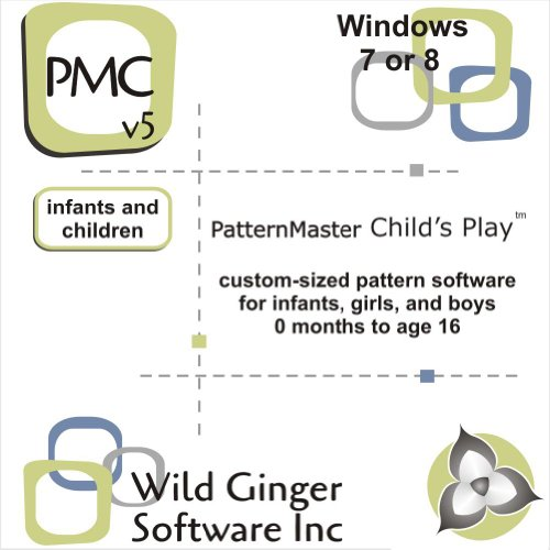 Patternmaster Child'S Play V6 Sewing Pattern Software