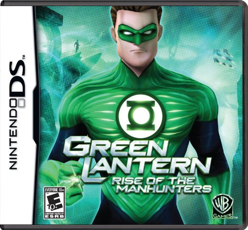 Green Lantern: Rise Of The Manhunters - Nintendo Ds front-1011247