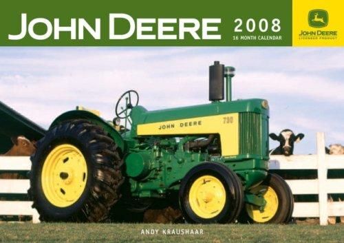 John Deere Farm Tractors 2008 Calendar
