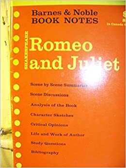 William Shakespeare: Romeo and Juliet (Barnes & Noble book