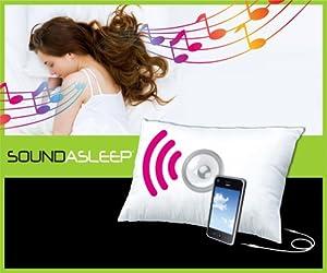 Ellery Sound Asleep Comfort Pillow with Built-in Speaker