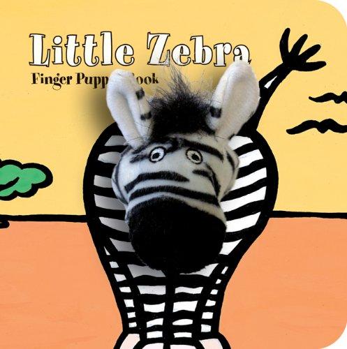 Little Zebra Finger Puppet Book: Board Book