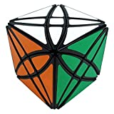 Moxing 8 Axis Hexahedron Magic Cube Flower Rex Puzzle 58Mm - Black by Tworay