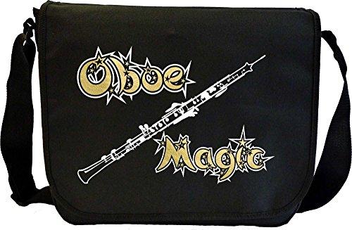 Oboe Magic - Sheet Music Document Bag Borsa Spartiti MusicaliTee