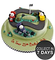 Racing Car Cake