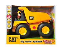 Toystate Caterpillar Construction Big Movin' Rumbler Dump Truck