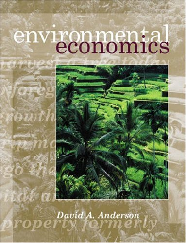 Environmental Economics and Resource Management with Economic Applications Card