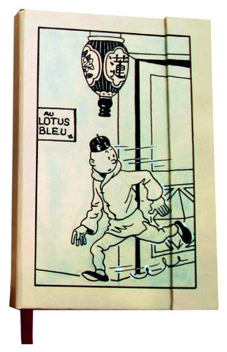 Moulinsart Tintin The Blue Lotus Notebook