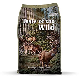 Taste of the Wild Tow Pine Forest Venison Dog Food, 28 lb