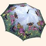 Butterfly Mountain auto folding umbrella from Galleria