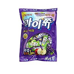 Crwon Maijju 328G / The Favorite Soft Chewable Fruit Candy Of Korean