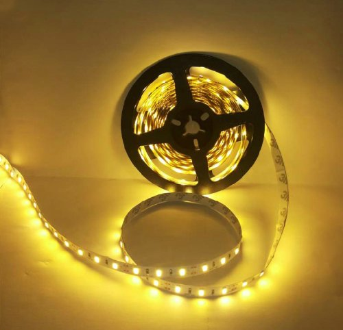 Hkbayi 16.4Ft 5M 300 Led 5630 Smd 12V Flexible Light 60 Led/M No Waterproof Strip Light For Party Wedding Xmas Warm White
