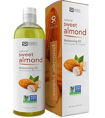 Pure almond oil for baby skin