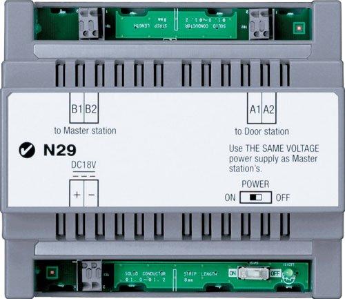 Aiphone Jkw-Ba Long Distance Adapter For Jk Series Audio/Video Intercom System front-611745