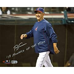 Terry Francona Cleveland Indians Autographed 8