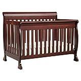 DaVinci Kalani 4-in-1 Convertible Crib with Toddler Rail, Cherry