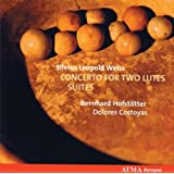 Weiss: Concerto for Two Lutes;