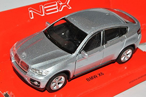 bmw-x6-e71-suv-silber-ab-2008-ca-1-43-1-36-1-46-welly-modell-auto