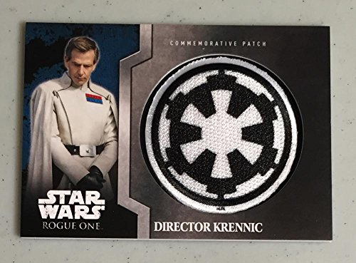 MultiSport MultiSport 2016 Topps Star Wars Rogue One Commemorative Patch #8 Director Krennic NM Near