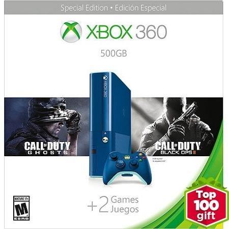 Xbox 360 E 500GB Blue COD