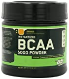 Optimum Nutrition Instantized BCAA Powder, Orange, 5000 mg, 380 Gram
