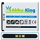 Akku-King Battery Li-Ion for Sony-Ericsson K800i (BST-33) K530i K550i K630i K660i K800i K810i M600i P990i W850i W88