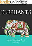 Elephants: Adult Coloring Book (Stres...