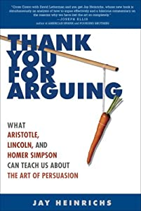"Cover of ""Thank You for Arguing: What Ari..."