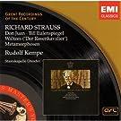 R. Strauss : Don Juan - Till L'Espi�gle - Les M�tamorphoses