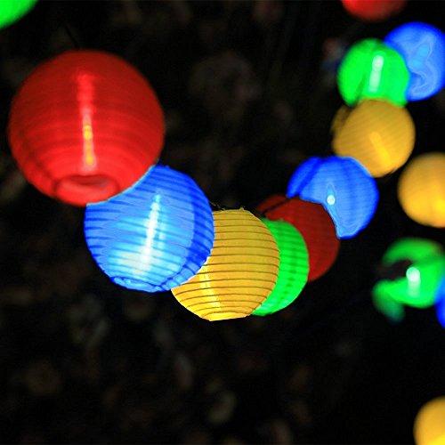 InnooTech-Lichterkette-20er-46-Meter-LED-Lampions-Laterne-Gartenbeleuchtung-Innen-und-Auenbereich-mit-Batteriehalter-fr-Deko-Feiern-Garten-Terrasse-Hof-Haus-Weihnachtsbaum-Bunt