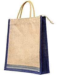 Multi-purpose Jute Carry Bag/lunch Bag/shopping Bag - B01M03PLDY