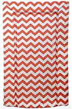 East Coast Nursery Chevron Changing Mat Coral