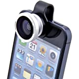 Patuoxun 180 Degree Fisheye Lens for iPhone 4S 5 iPad 2 with Detachable Clip