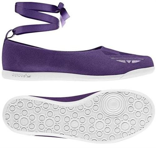 ADIDAS BALLERINA BALLERINAS CONCORD ROUND SCHUHE LILA Gr. 38