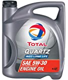 Total (188058-5QT) Quartz INEO Long Life ACEA/API 5W-30 Engine Oil - 5 Quart