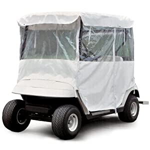 Orlimar Universal Full Golf Cart Cover (Zippered Door) by Intech