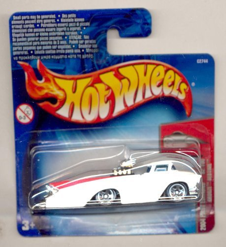 Hot Wheels 2004-052 First Editions 52/100 WHITE Crooze Bedtime SHORT CARD 1:64 Scale