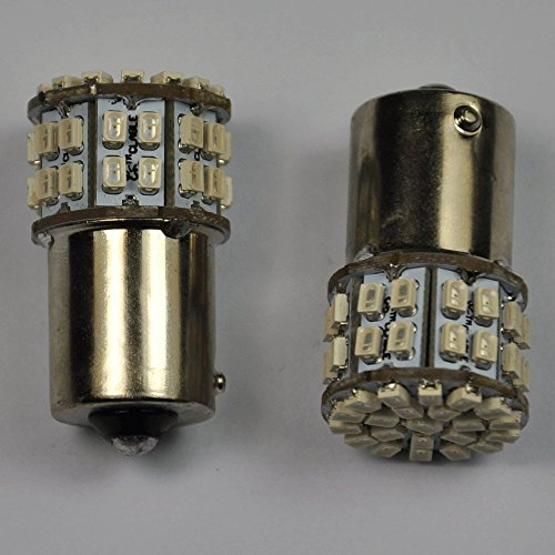 Cutequeen 2Pcs White 750 Lumens Super Bright 1156 1056 7507 Py21W Bau15S Offset Pin 150 Degree S25 3020 50Smd 50-Smd Led Car Lights Bulb Backup Signal Blinker Tail Light Bulbs 12V Replacement For #1156 1141 1073 1093 1129 1056 7507 And 7507As