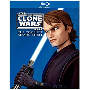 Star Wars: The Clone Wars: The Complete Season Three on Blu-ray