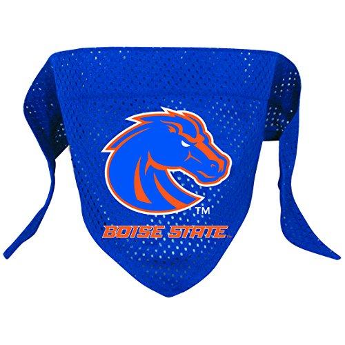 Ncaa Boise State Broncos Pet Bandana, Team Color, Small front-822922