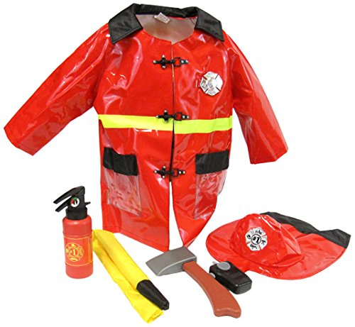 Little Big World Firefighter Deluxe Costume