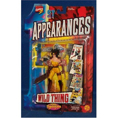 Buy Low Price Toy Biz Marvel Comics 1st Appearances Wild Thing Action Figure (B0019MVI5E)
