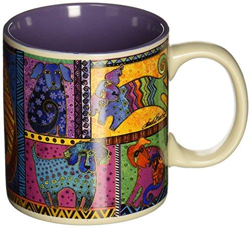 laurel-burch-laurel-burch-artistic-tasse-collection-dog-tails-patchwork-andere-mehrfarbig
