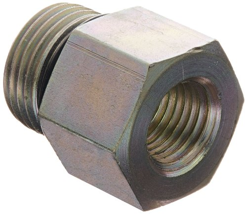 "Eaton Weatherhead C3269X8X4 Carbon Steel Fitting, Adapter, 1/4"" Npt Female X 1/2"" O-Ring Boss Male front-597470"