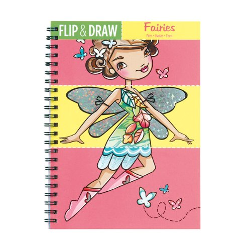 Mudpuppy Fairies Flip & Draw