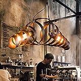 Pendelleuchte Retro bar Eisen-Lampe modernen...