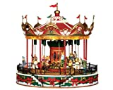 Lemax Village Collection Santa Carousel with Adaptor # 34682