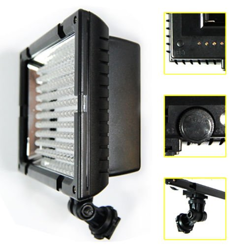 Globe House Products GHP Compact Design 5400K LE CN-160 Studio Continuous LED Light