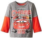 Disney Little Boys' Cars Lightning McQueen Speed Champ 95 Two-Fer Tee